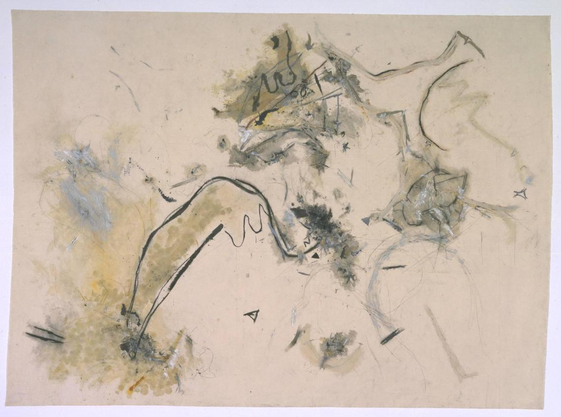 The Wing of the Wind of Madness (1982) by Avis Newman http://www.tate.org.uk/art/work/T07164